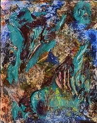 """Tectonic Upheaval, Size: 10"""" x 13"""", Price: $1250"""